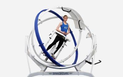 SPACECURL 3D wleczeniu spastyczności